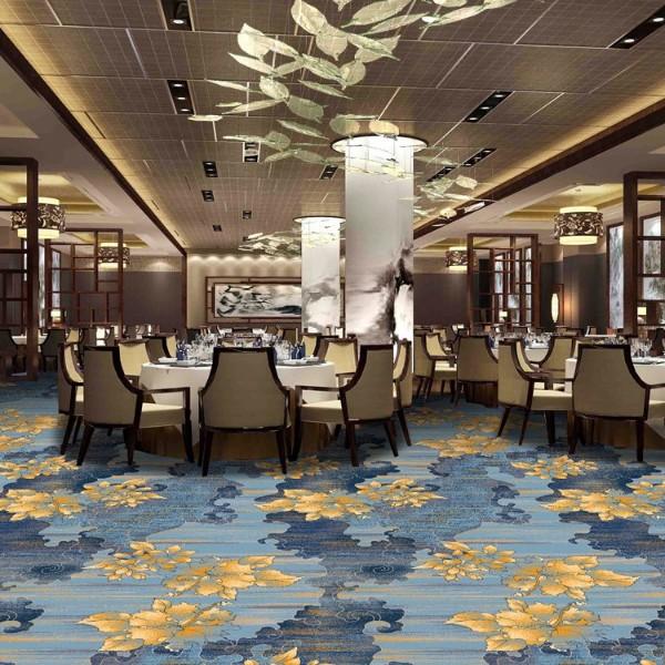 酒店地毯餐厅地毯宴会厅地毯-高清印花地毯-MS1004
