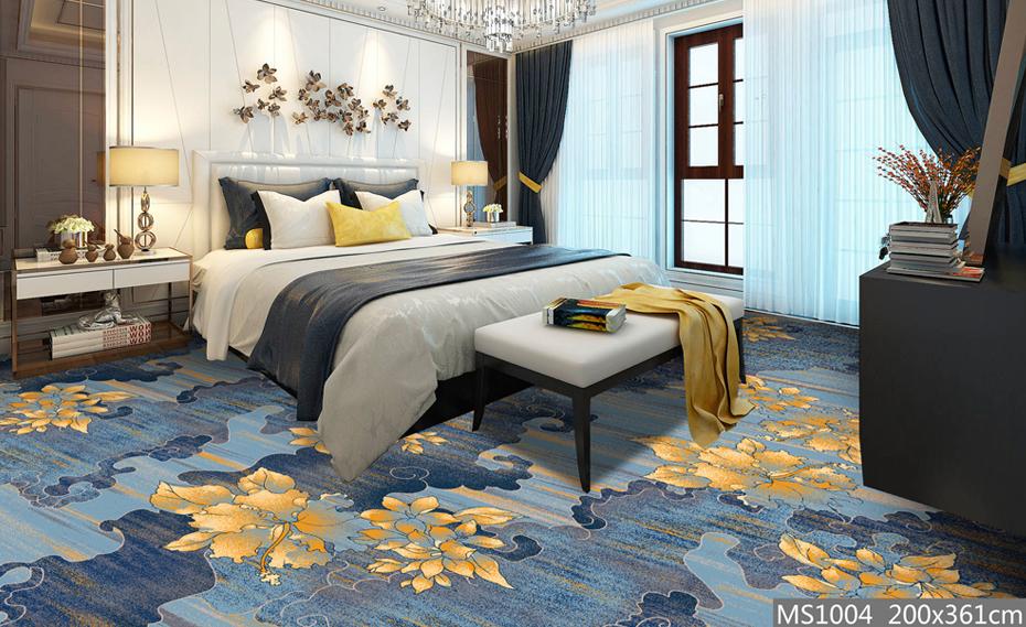 高清印花 客房地毯 宾馆地毯