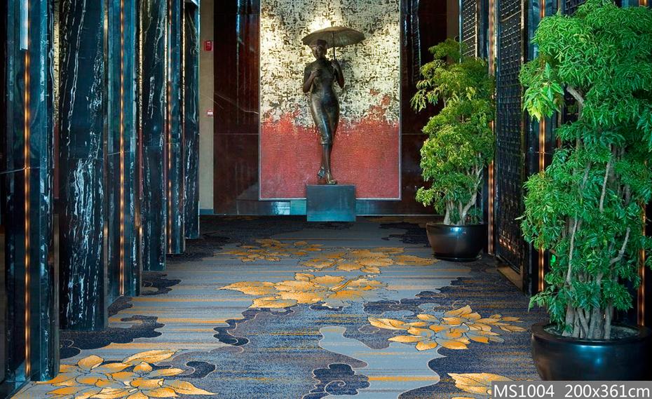 高清印花 走廊地毯 走道地毯
